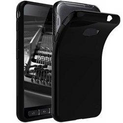 "Silikonski etui ""Slim"" za Samsung Galaxy Xcover 4, 0,5mm, Črna barva"