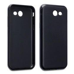 """Silikonski etui """"Slim"""" za Samsung Galaxy J3 2017, 0,5mm, Črna barva"""
