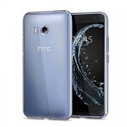 Silikonski etui za HTC U11, 0,3mm, Prozorna barva