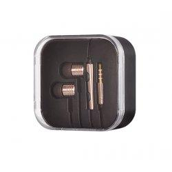 Slušalke Tel1  HF, zlata barva