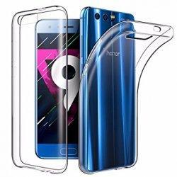 Silikonski etui za Huawei Honor 9, 0,3mm, Prozorna barva