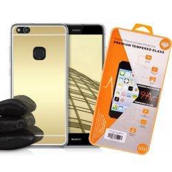 """Silikonski etui """"Mirror"""" in zaščitno steklo za Huawei P10 Lite"""