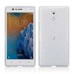 Silikonski etui za Nokia 3, 0,3mm, Prozorna barva