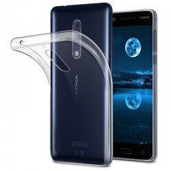 Silikonski etui za Nokia 5, 0,3mm, Prozorna barva