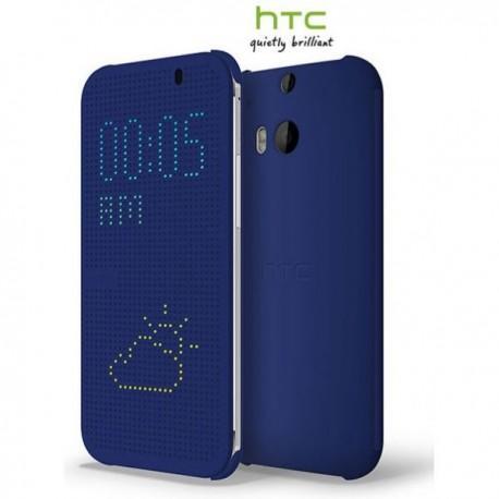 Torbica za HTC One M8 HTC Dot Flip View Case Preklopna Modra barva Original HTC