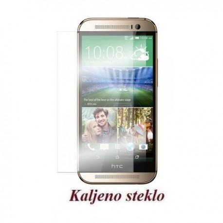Zaščitno kaljeno steklo za HTC One M8 Trdota 9H 0,3 mm Premium