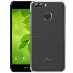 Silikonski etui za Huawei Nova 2, 0,3mm, Prozorna barva
