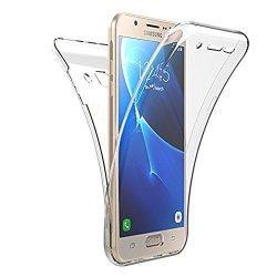 Silikonski etui 360 za Samsung Galaxy J5 2017, prozoren