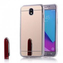 """Silikonski etui """"Mirror"""" za Samsung Galaxy J5 2017,  Zlata barva"""