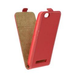 "Preklopna torbica, etui ""flexi"" za Lenovo Vibe C, rdeča barva"