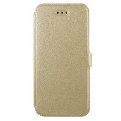 "Preklopna torbica, etui ""Slim"" za Sony Xperia L1, Zlata barva"