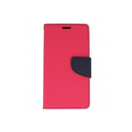 "Preklopna torbica, etui ""Fancy"" za LG Q6, Pink barva"