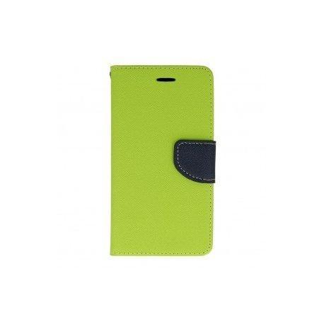 "Preklopna torbica, etui ""Fancy"" za LG Q6, Zelena barva"