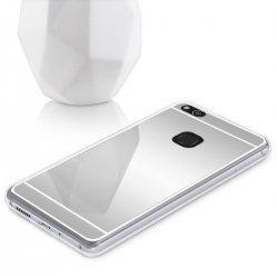 "Silikonski etui ""Mirror"" za Huawei P10 Lite, Srebrna barva"
