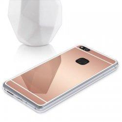 """Silikonski etui """"Mirror"""" za Huawei P10 Lite, Pink barva"""