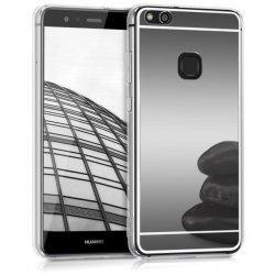 """Silikonski etui """"Mirror"""" za Huawei P10 Lite, Siva barva"""