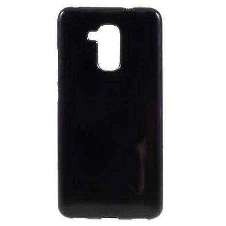 """Silikonski etui """"Jelly"""" za Huawei Nova Smart, Črna barva"""