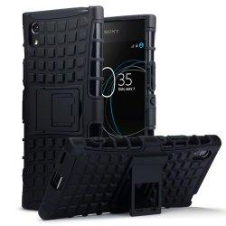 "Etui ""Dual Armor"" za Sony Xperia XA1, črna barva"
