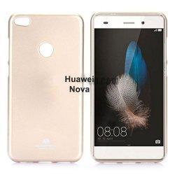 "Silikonski etui ""Jelly"" za Huawei Nova, Zlata barva"