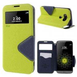 """Preklopna torbica """"Roar Fancy Diary"""" za LG G5, Zelena barva"""