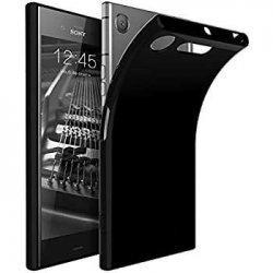 """Silikonski etui """"Slim"""" za Sony Xperia XZ1, 0,5mm, Črna barva"""
