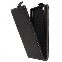 "Preklopna torbica, etui ""flexi"" za Huawei Honor 9, črna barva"