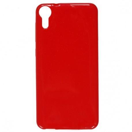 "Silikonski etui ""Jelly"" za HTC Desire 10 Lifestyle, Rdeča barva"