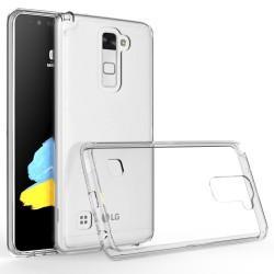 Silikonski etui za LG Stylus 2, debeline 0,5mm, Prozorna barva