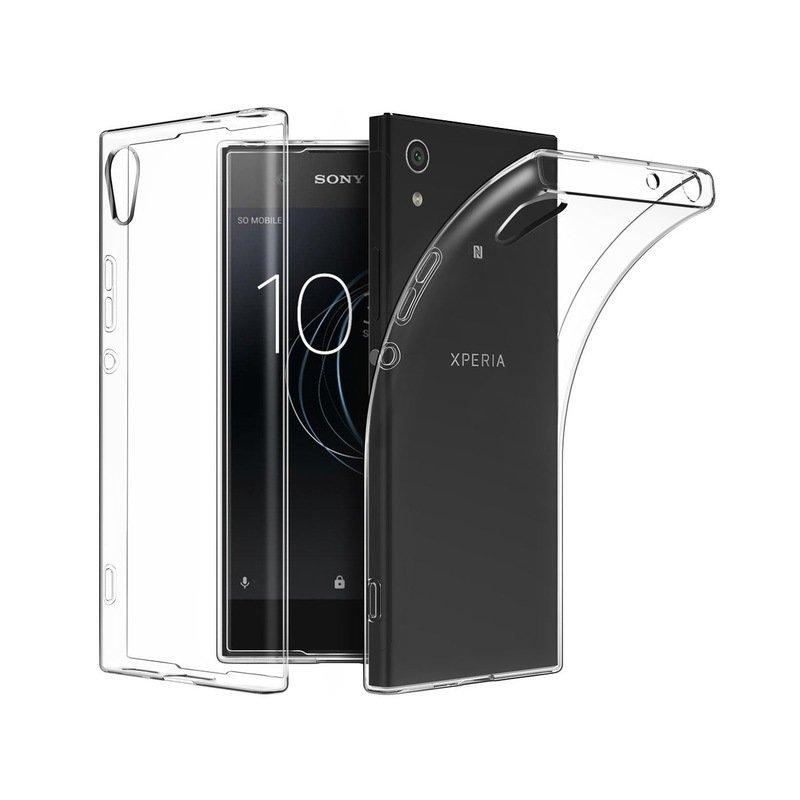 silikonski etui za sony xperia xa1 plus 0 3mm prozorna barva. Black Bedroom Furniture Sets. Home Design Ideas
