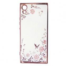 "Etui ""Diamond Case"" za Sony Xperia XA1, pink barva"