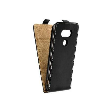 "Preklopna torbica, etui ""flexi"" za LG Q6, črna barva"