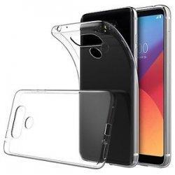 Silikonski etui za LG Q6, 0,3mm, Prozorna barva