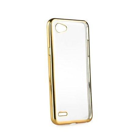 "Etui ""Electro Jelly"" za LG Q6, zlata barva"