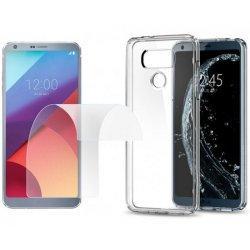 Silikonski etui, prozoren +zaščitna folija zaslona za LG G6