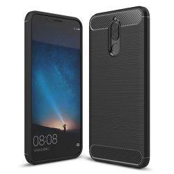 """Etui """"Carbon Case"""" za Huawei Mate 10 Lite, črna barva"""