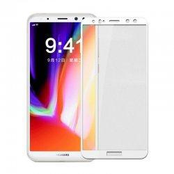 """Zaščitno steklo """"Full Face"""" za Huawei Mate 10 Lite, Trdota 9H, bela"""