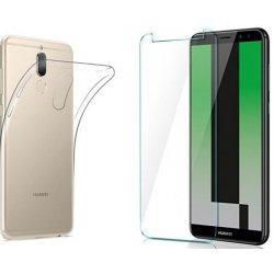 Silikonski etui, prozoren+ zaščitno steklo za Huawei Mate 10 Lite