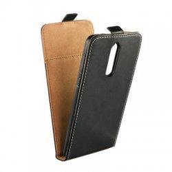 """Preklopna torbica, etui """"flexi"""" za Nokia 8, črna barva"""
