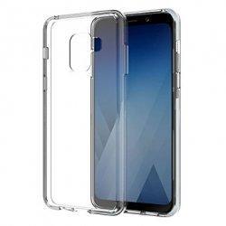 Silikonski etui za Samsung Galaxy A8 2018, 0,3mm, Prozorna barva