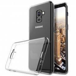 Silikonski etui za Samsung Galaxy A8 2018, 0,5mm, Prozorna barva