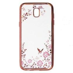 "Etui ""Diamond Case"" za Samsung Galaxy A8 2018, pink barva"
