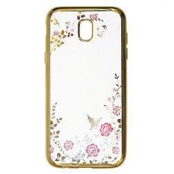 """Etui """"Diamond Case"""" za Samsung Galaxy A8 2018, zlata barva"""