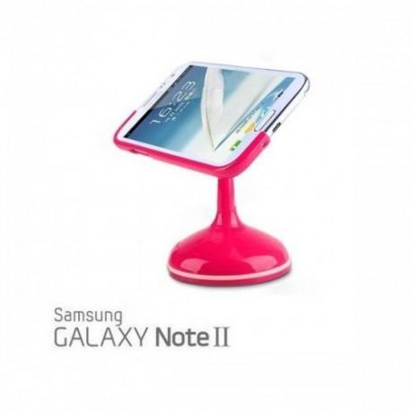Avtonosilec Samsung Galaxy Note II, pink