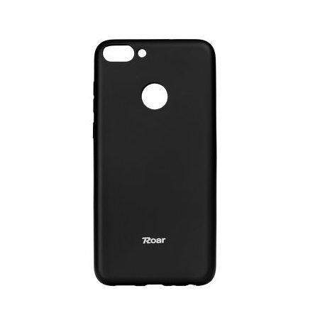 "Silikonski etui ""Roar All Day"" za Huawei P Smart, črna barva"