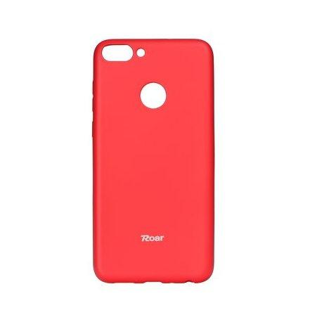 "Silikonski etui ""Roar All Day"" za Huawei P Smart, pink barva"