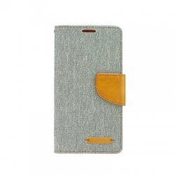 """Preklopna Torbica """"Fancy"""" za Samsung Galaxy Xcover 3, Siva barva"""