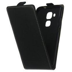 """Preklopna torbica, etui """"flexi"""" za Huawei Nova Smart, črna barva"""