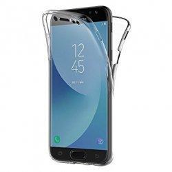 Silikonski etui 360 za Samsung Galaxy J7 2017, prozoren