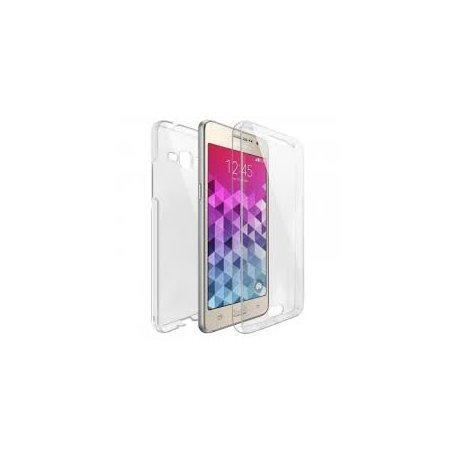 Silikonski etui 360 za Samsung Galaxy Grand Prime, prozoren