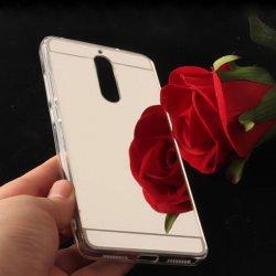 "Silikonski etui ""Mirror"" za Huawei Mate 10 Lite, srebrna"